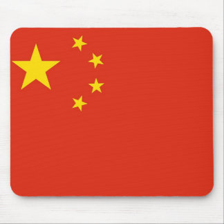 Mouse pad with Flag of China