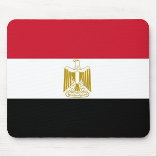 Mouse pad with Flag of Egypt