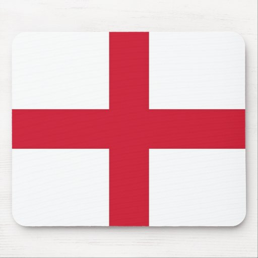 Mouse pad with Flag of England