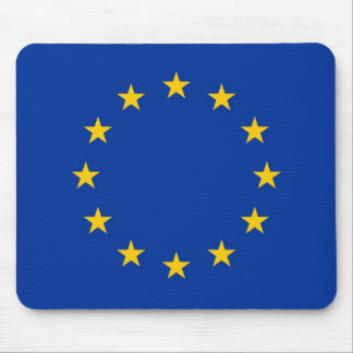 Mouse pad with Flag of European Union
