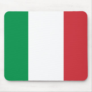 Mouse pad with Flag of Italy