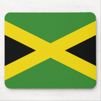 Mouse pad with Flag of Jamaica