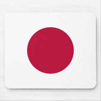 Mouse pad with Flag of Japan