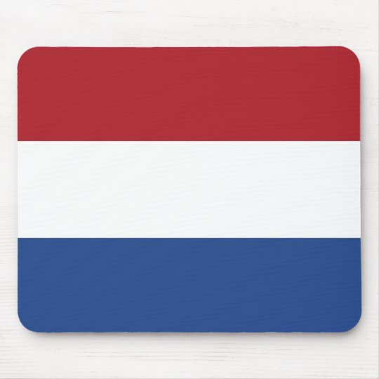 Mouse pad with Flag of Netherlands