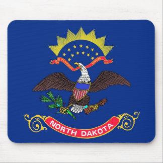 Mouse pad with Flag of North Dakota State - USA