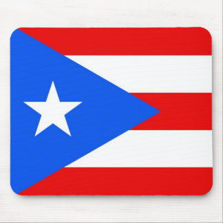Mouse pad with Flag of Puerto Rico - USA