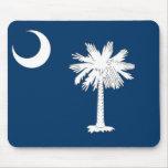 Mouse pad with Flag of South Carolina State - USA