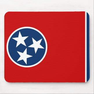Mouse pad with Flag of Tennessee State - USA