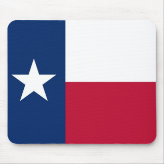 Mouse pad with Flag of Texas State - USA