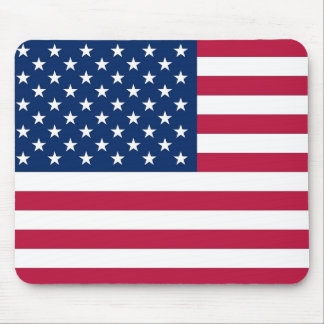 Mouse pad with Flag of the USA