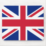 Mouse pad with Flag of United Kingdom