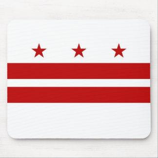 Mouse pad with Flag of Washington DC - USA
