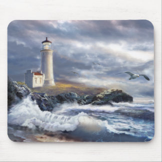 Mouse Pad with North Head Lighthouse