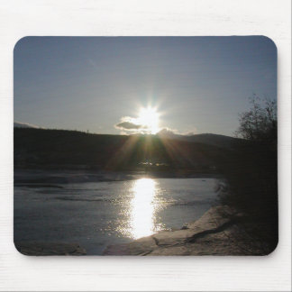 mouse pad with photo of Yukon River