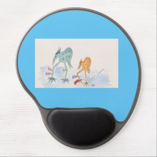 Mouse Pad with Pud and Beaky Gel Mouse Pad