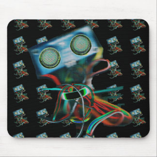 Mouse Pad with Robot Inspired Design