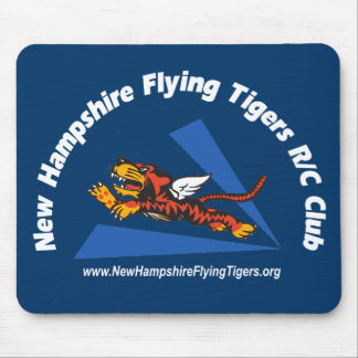 Mouse pads, dark-color, with NH Flying Tigers logo Mouse Pad