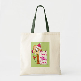 Mouse painting Merry Christmas Bags