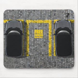 Mouse Parking Lot  Mousepad
