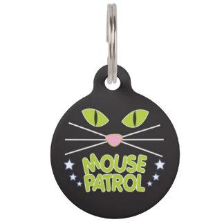 Mouse Patrol Pet ID Tag