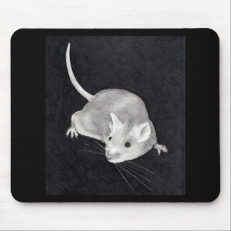 MOUSE: PENCIL REALISM ART MOUSE PAD
