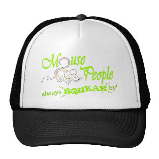 """""""Mouse People"""" (green text) Trucker Hat"""