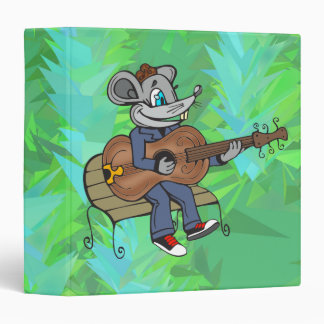 Mouse Playing Guitar Binders