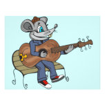 Mouse Playing Guitar Full Color Flyer