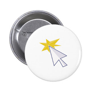 Mouse Pointer 2 Inch Round Button
