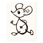 Mouse Post Card