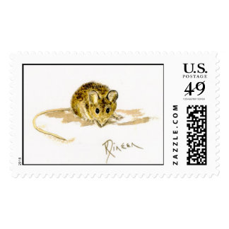 Mouse Postage Stamp