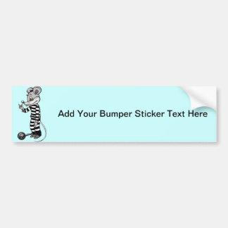 Mouse Prisoner Bumper Sticker