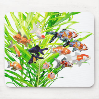 Mouse Propellant-actuated device of Goldfishes and Mouse Pad