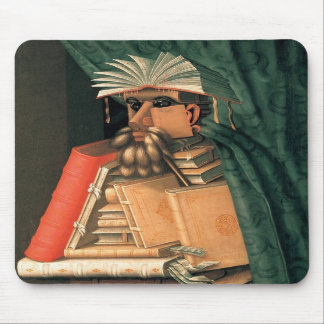 mouse propellant-actuated device - The Librarian Mouse Pad