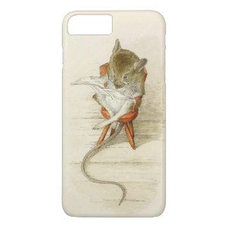 Mouse Reading Newspaper iPhone 7 Plus Case
