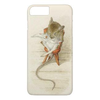 Mouse Reading Newspaper iPhone 8 Plus/7 Plus Case