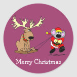 Mouse & Reindeer Stickers