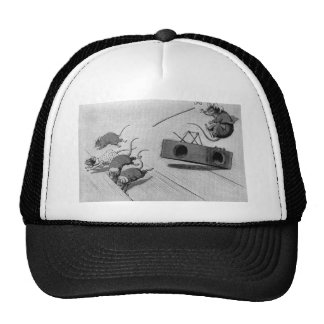 Mouse Safely Springs Mousetrap Trucker Hats