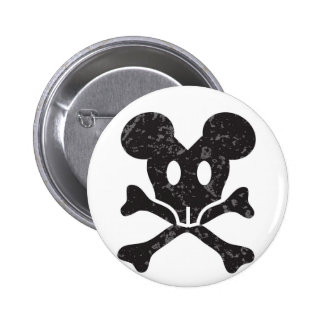 mouse skull button