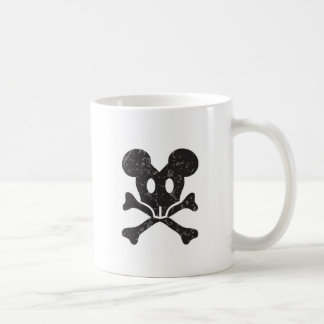 mouse skull coffee mug
