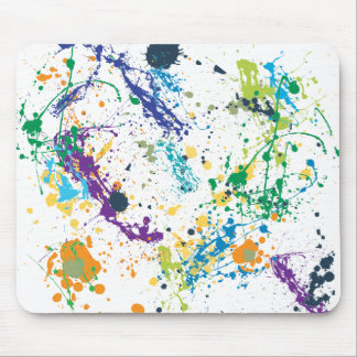 Mouse Splat Mouse Pads