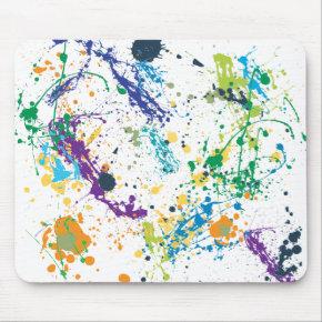 Mouse Splat mousepad