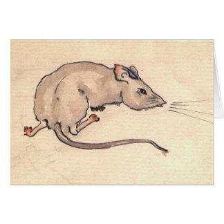 Mouse Ssssst! Card