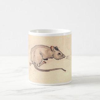 Mouse Ssssst! Coffee Mugs