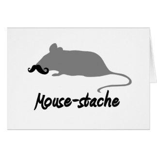 mouse-stache card