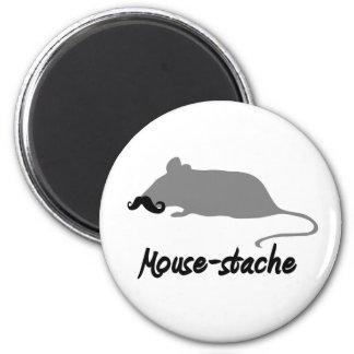 mouse-stache magnet