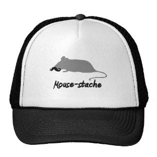 mouse-stache trucker hat