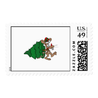 Mouse Stealing Tree Stamp
