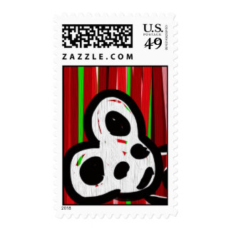 Mouse stripes stamps