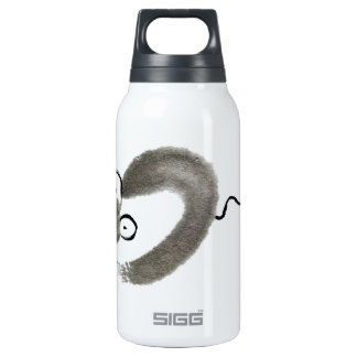 Mouse, Sumi-e Insulated Water Bottle